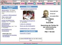 Website aspern.at 2001
