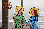 23. Dezember - Begegnung Maria mit Elisabeth – in St. Katharina