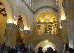 in der Kirche auf dem Berg Tabor