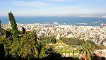 Blick über Haifa
