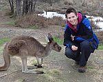 Martina Breuer in Australien