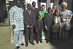 Familie aus Nigeria