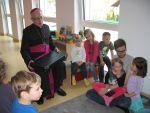 Weihbischof Scharl im KTH St. Franziskus