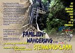 Familienwanderung in der Steinwandklamm