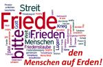 Word Cloud Friede