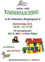 Musikalisches Faschingsfest mit den Kathi-Kids