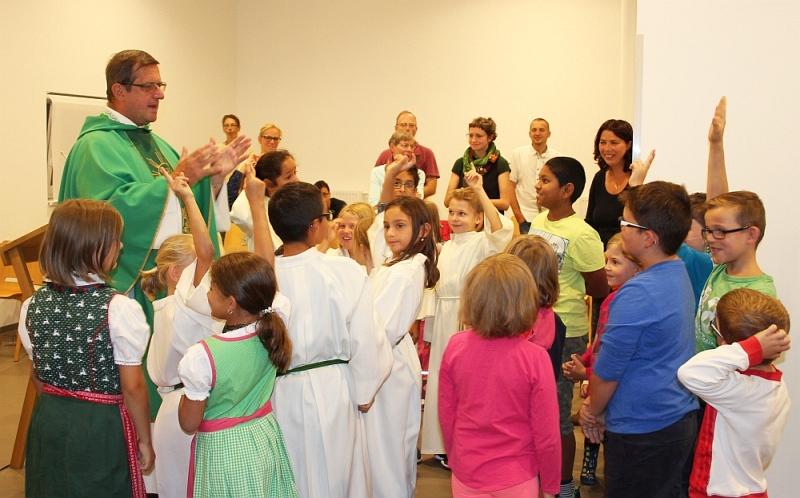 hl. Messe mit feierlicher Segnung