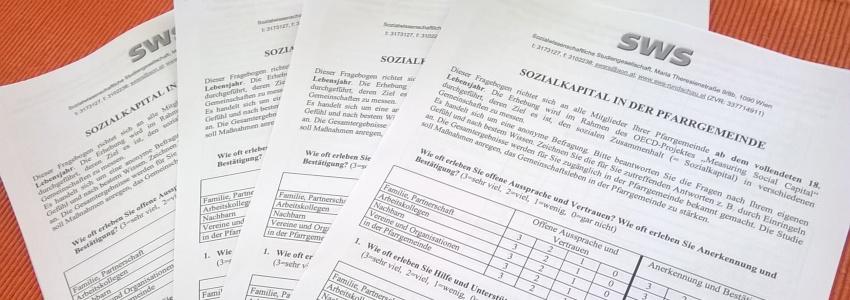 Fragebogenaktion: SOZIALKAPITAL