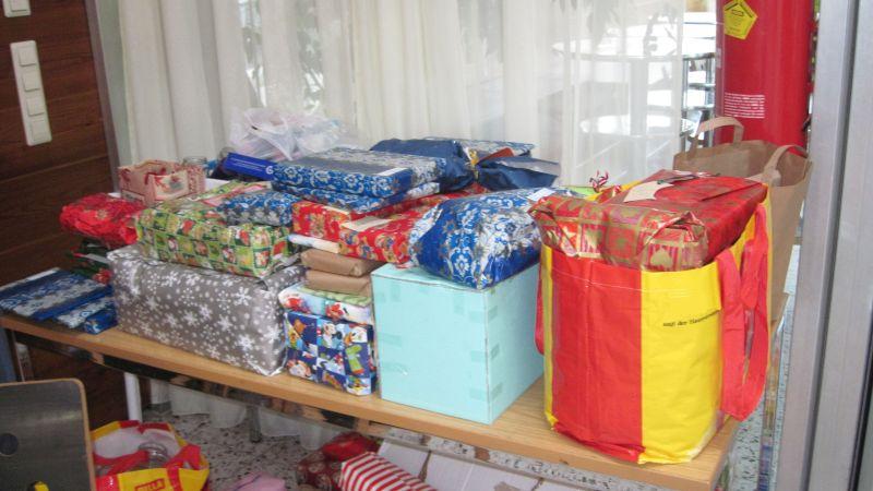 Weihnachtsgeschenke-Aktion