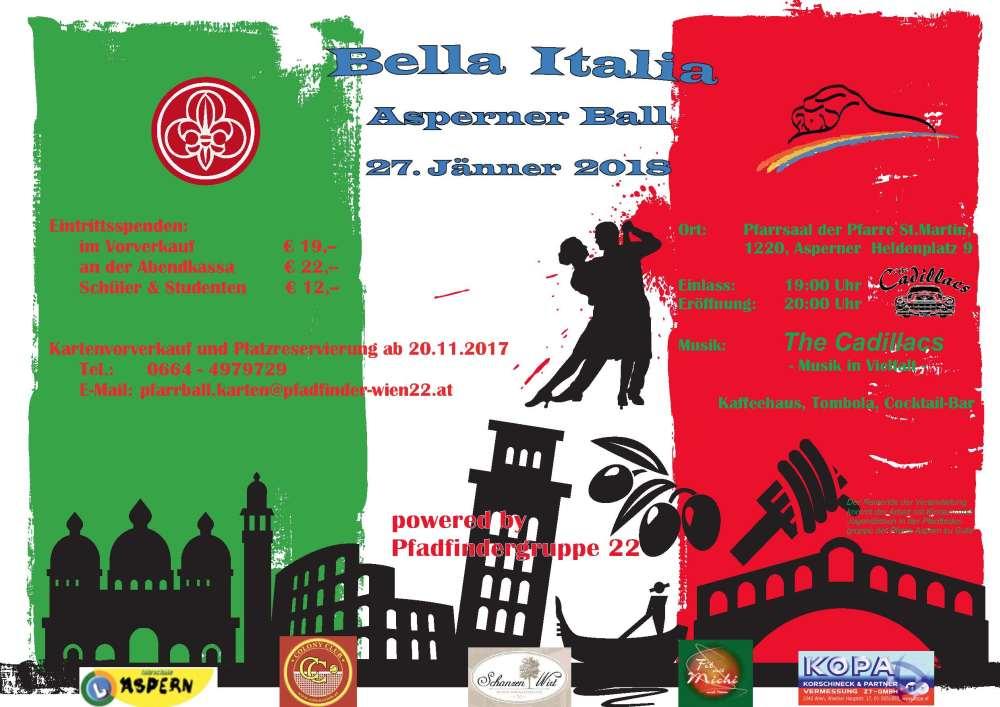 Bella Italia – Asperner Pfarrball 2018