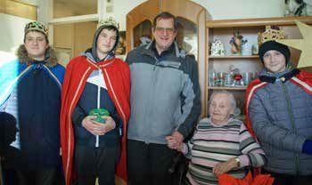 Königlicher Besuch bei Angela Mattes