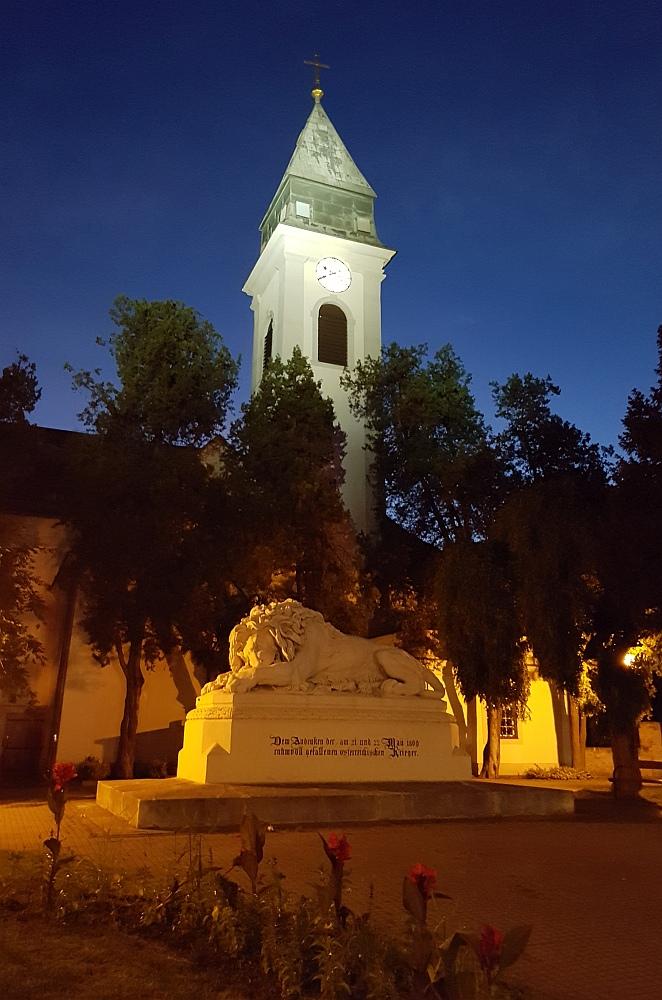 Beleuchtung Asperner Pfarrkirche