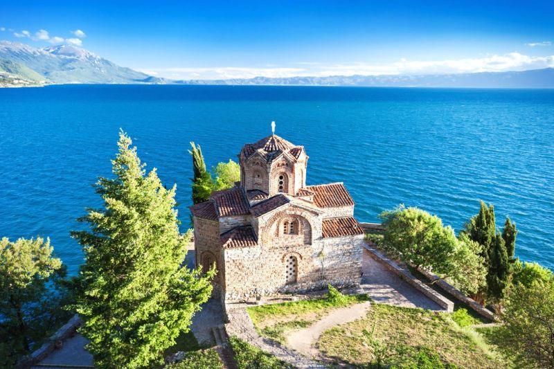 Albanien und Mazedonien