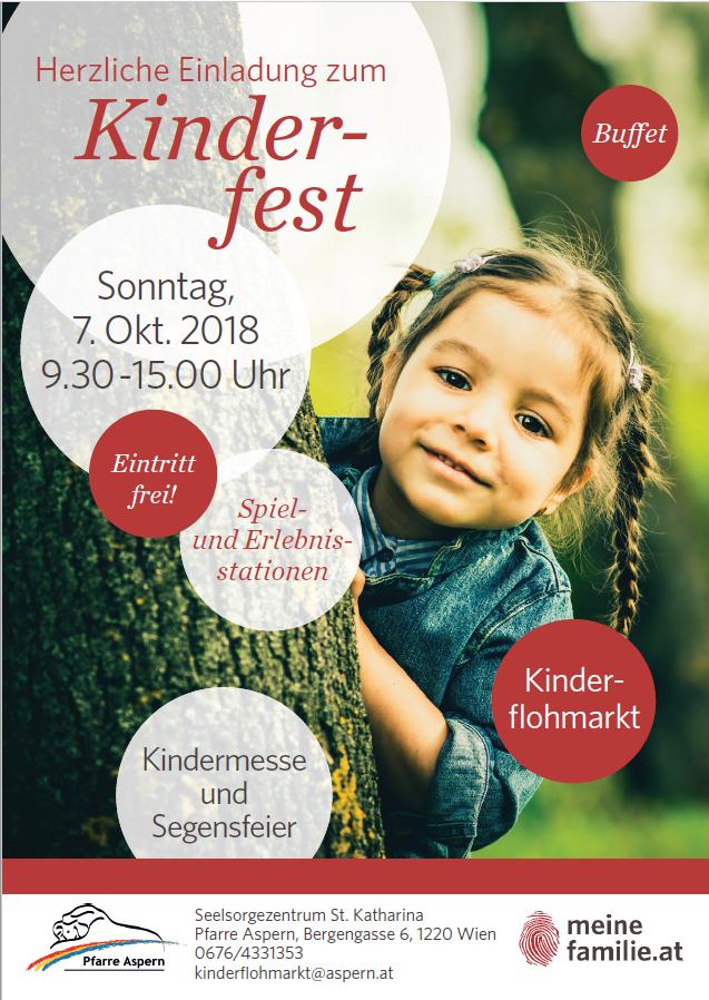 Kinderfest Flyer