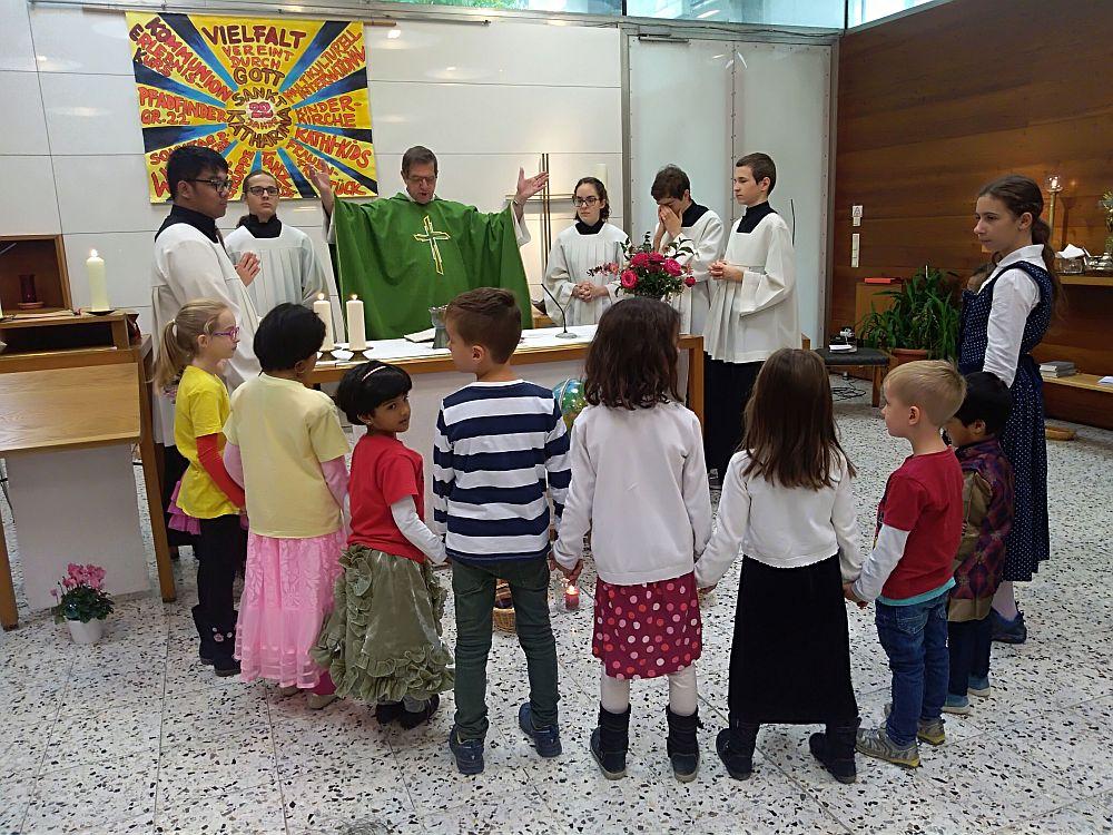 Die Vorbereitung zur Erstkommunion läuft!
