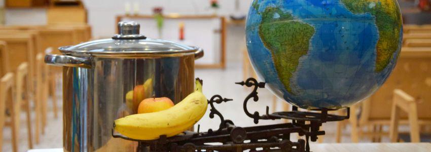 Aktion Familienfasttag - Suppenessen