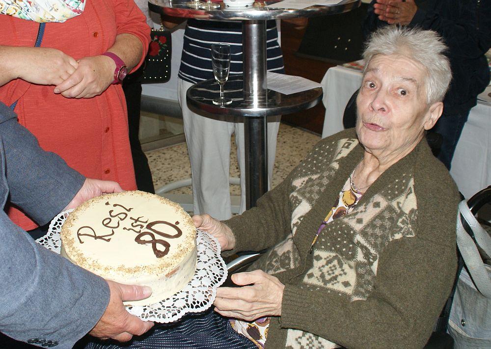 Resi Montag feierte ihren 80-iger!