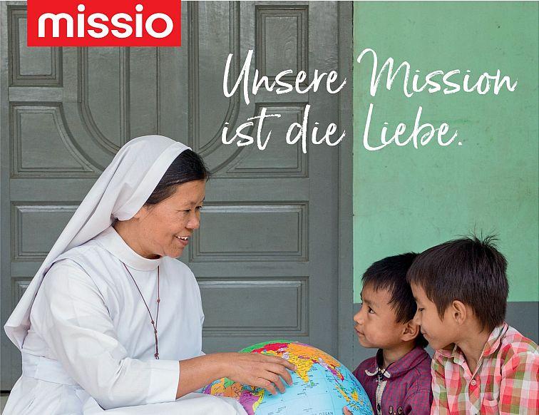 Unsere Mission ist die Liebe.