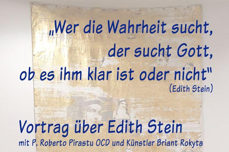 Vortrag über Edith Stein