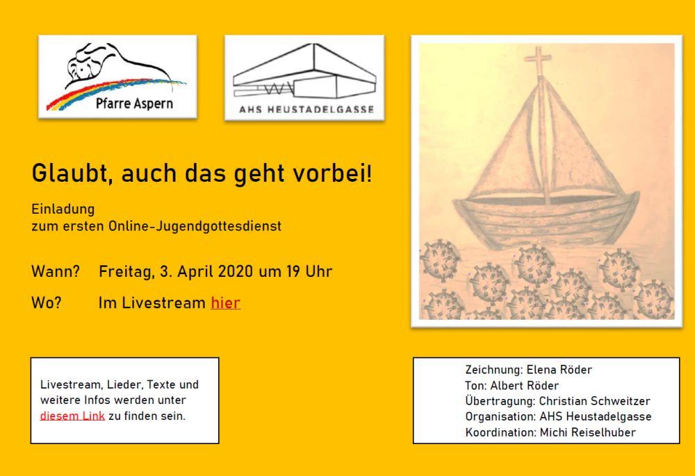 Jugendgottesdienst - live