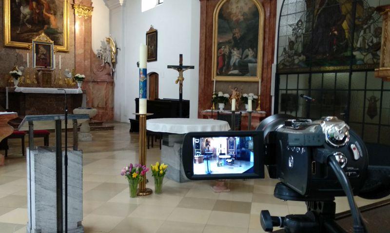 Liveübertragung der hl. Messen
