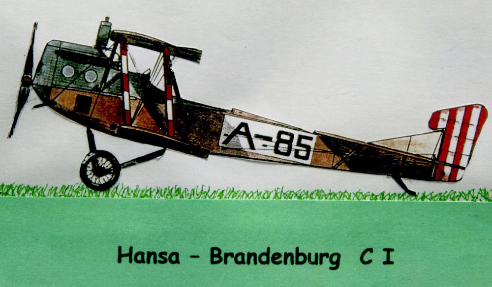 Die Hansa-Brandenburg C I