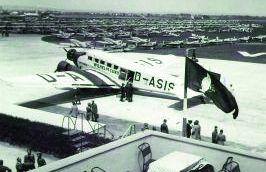 Flughafen etwa 1943
