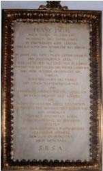 Tafel Franz Jakob