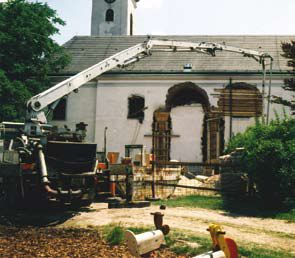 Kirchenzubau
