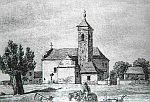 Der zerschossene Kirchturm