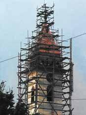 1978 lässt die Gemeinde Wien den Turm generalsanieren und die Weißblechdeckung durch Kupferblech ersetzen