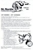 Pfarrnachrichten  1983