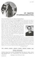 Pfarrnachrichten Sonderdruck 1979