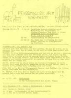 Pfarrnachrichten  1975