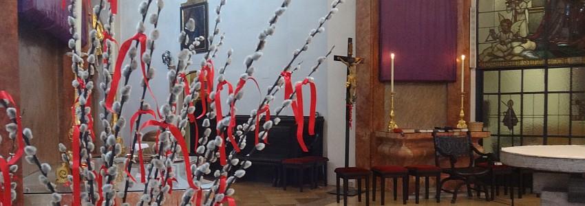 Palmsonntag in der Seestadt - hl. Messe